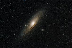 M31 アンドロメダ銀河の写真素材 [FYI01180827]