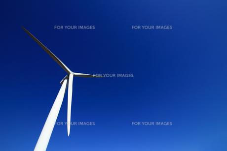 環境に優しい風力発電の写真素材 [FYI01180973]