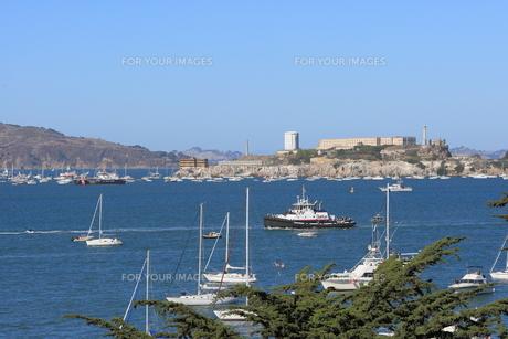 アルカトラズ島 サンフランシスコの写真素材 [FYI01181368]