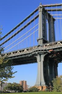 マンハッタンブリッジ ニューヨークの写真素材 [FYI01181374]