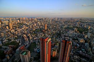 東京の住宅街を眺望の写真素材 [FYI01181752]