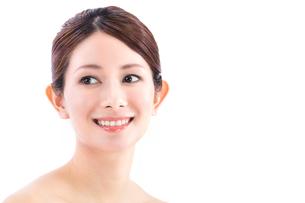 笑顔の女性の写真素材 [FYI01181863]
