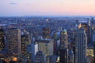 ニューヨーク街 夕景の写真素材 [FYI01181896]
