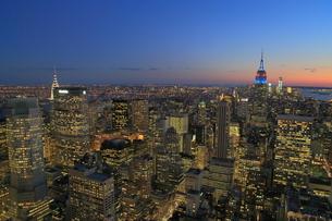 ニューヨーク街 夕景の写真素材 [FYI01181901]