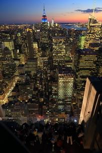 ニューヨーク街 夕景の写真素材 [FYI01181905]