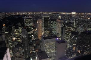 ニューヨーク街 夕景の写真素材 [FYI01181906]