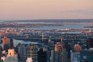ニューヨーク街 夕景の写真素材 [FYI01181913]