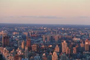 ニューヨーク街 夕景の写真素材 [FYI01181914]
