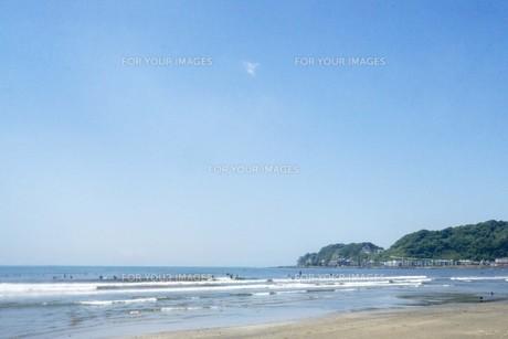 初夏の海の写真素材 [FYI01181955]
