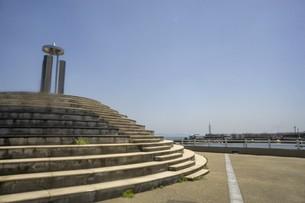 江の島の公園の写真素材 [FYI01181957]