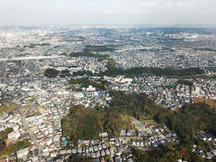 市川市上空からの空撮の写真素材 [FYI01182017]