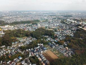 市川市上空からの空撮の写真素材 [FYI01182018]
