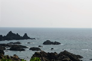 五能線の車窓風景の写真素材 [FYI01182115]