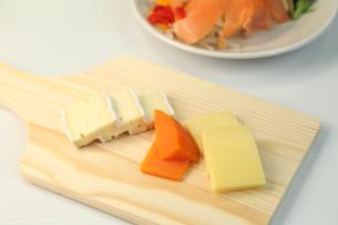 チーズ盛り合せの写真素材 [FYI01182141]