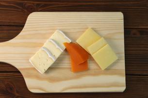 チーズ盛り合せの写真素材 [FYI01182147]