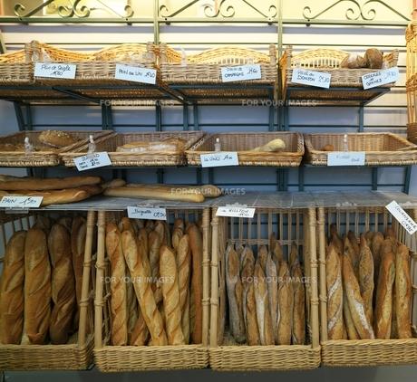 フランスのパン屋の写真素材 [FYI01182888]