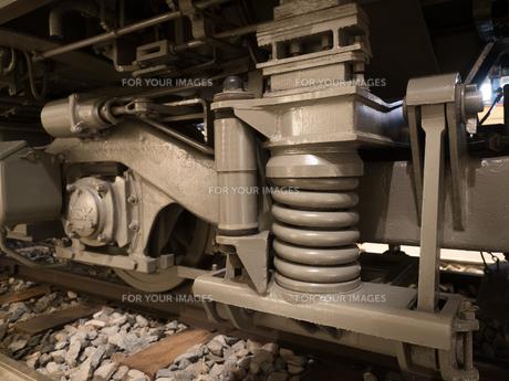 電車の台車の写真素材 [FYI01182912]