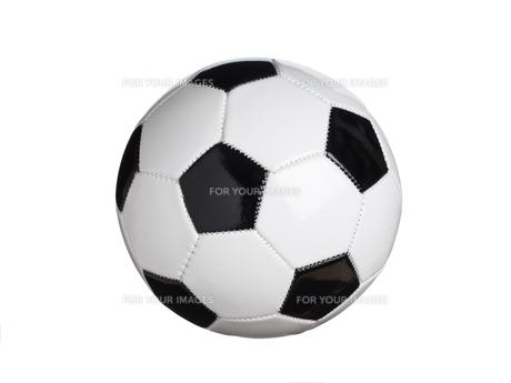 サッカーボールの写真素材 [FYI01182937]