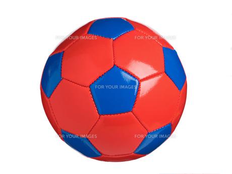 カラフルなサッカーボールの写真素材 [FYI01182940]