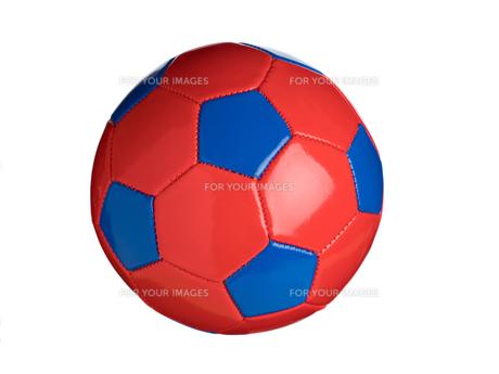 カラフルなサッカーボールの写真素材 [FYI01182942]