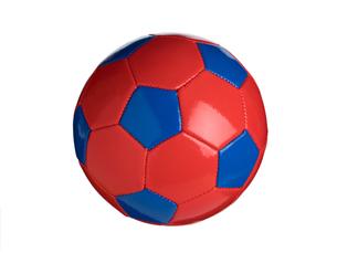 カラフルなサッカーボールの写真素材 [FYI01182943]