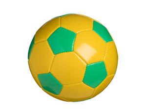 カラフルなサッカーボールの写真素材 [FYI01182945]