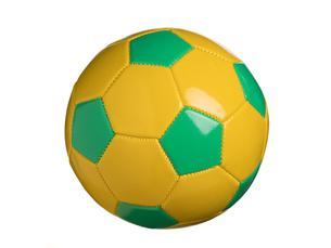 カラフルなサッカーボールの写真素材 [FYI01182946]