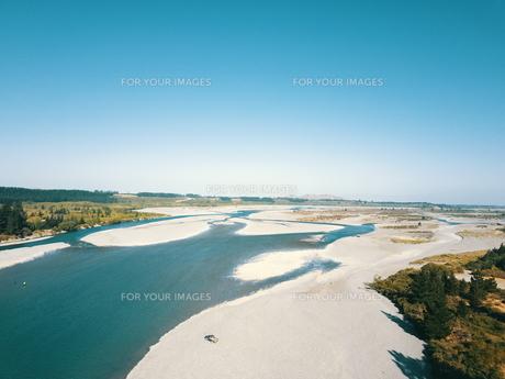 New Zealand 川の写真素材 [FYI01183131]