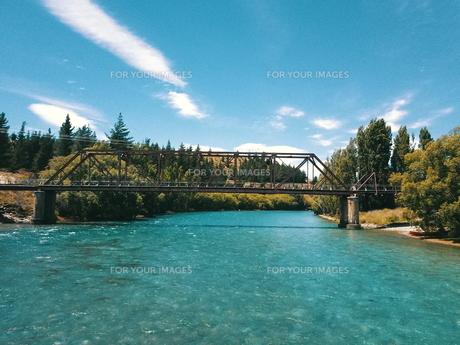 New Zealand 川の写真素材 [FYI01183132]