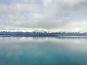 New Zealand 湖の写真素材 [FYI01183133]