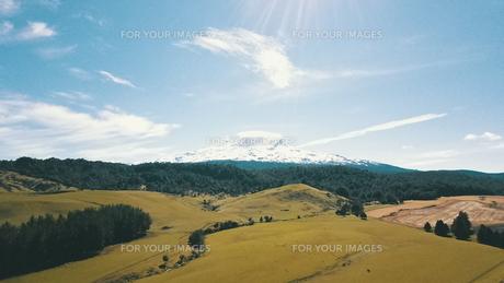 New Zealand 山の写真素材 [FYI01183135]