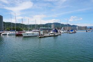 琵琶湖大津港の写真素材 [FYI01183253]