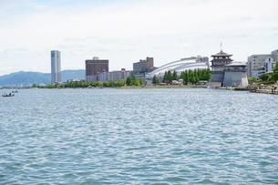 琵琶湖大津港の写真素材 [FYI01183259]