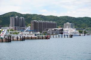 琵琶湖大津港の写真素材 [FYI01183260]