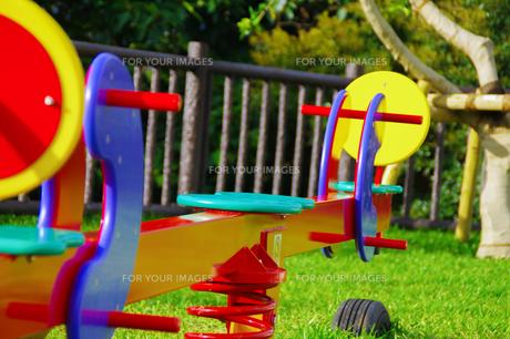 公園の遊具の写真素材 [FYI01183702]