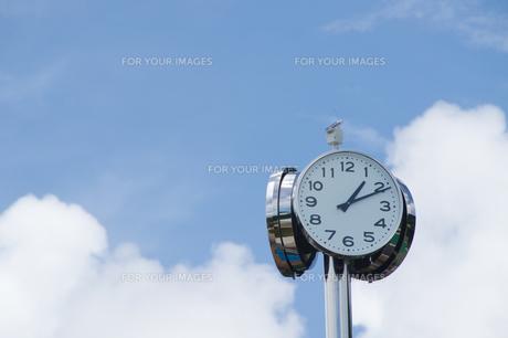 時間の写真素材 [FYI01183703]