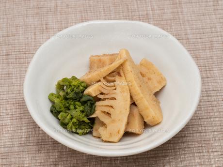 タケノコの煮物の写真素材 [FYI01183854]
