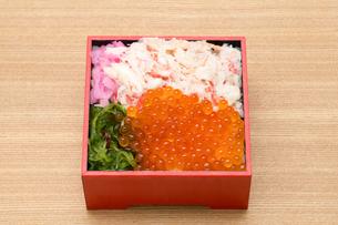 海鮮弁当の写真素材 [FYI01184003]