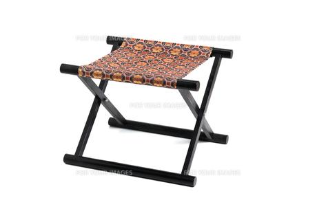 胡床椅子,神社仏閣で使用される椅子の写真素材 [FYI01184037]