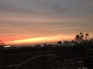 夕日の写真素材 [FYI01184142]