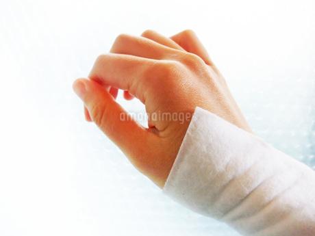 手首に貼った湿布の写真素材 [FYI01184261]