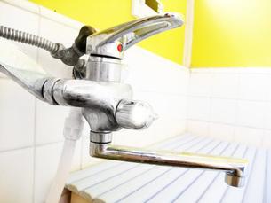 風呂の蛇口の写真素材 [FYI01184264]
