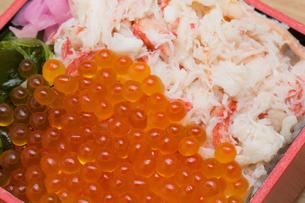 海鮮弁当の写真素材 [FYI01184364]