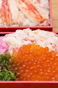 海鮮弁当の写真素材 [FYI01184365]