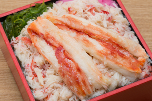 海鮮弁当の写真素材 [FYI01184366]