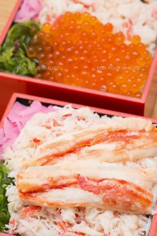 海鮮弁当の写真素材 [FYI01184367]