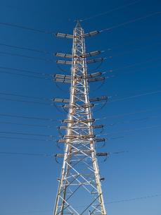 送電線の写真素材 [FYI01184376]