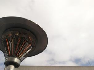 街灯と空の写真素材 [FYI01184485]