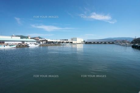 沼津港 内港の写真素材 [FYI01184496]