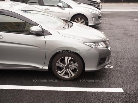 駐車場の写真素材 [FYI01184588]